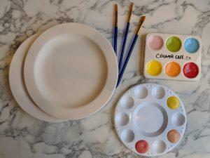 1 + 2 + 3 : ENSEMBLE PROMO Céramiques + peintures + accessoires